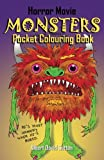 img - for Horror Movie Monsters Pocket Colouring Book book / textbook / text book