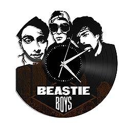 Beastie Boys Vinyl Wall Clock Music Bands and Musicians Themed Personalized Decor - VinylShopUS