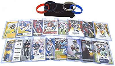 Football Cards Fantasy Team: Carson Wentz, Tom Brady, Odell Beckham, Antonio Brown, Le'Veon Bell, Rivers, Stafford, Brees, Gronk, Julio Jones, Ezekiel Elliot, Gurley, Watt, Mack, Miller, Matthews