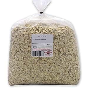 Bulk Old-Fashioned Non-GMO Rolled Oats, 5 LB. Bag
