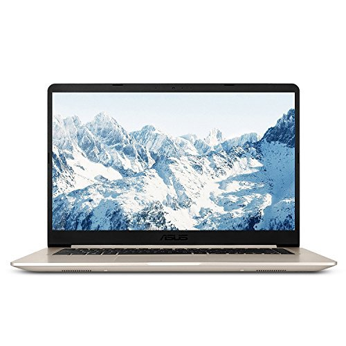 2018 Premium ASUS S510 15.6 Inch FHD Thin and Portable Laptop Intel Core i7-7500U NVIDIA GeForce 940MX 8GB DDR4 RAM 256GB SSD + 1TB HDD Hybrid Backlit Keyboard Narrow Bezel Design Win 10- Gold [並行輸入品] B07HRM5253