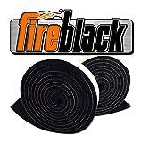 grill gasket - FireBlack 125 Black Nomex Self Stick Replacement Big Green Egg Gasket High Temp w/ LavaLock (tm) LG XL