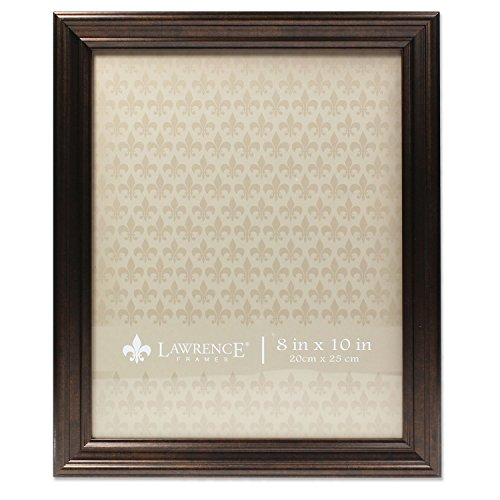 Lawrence Frames 535580 8x10 Classic Detailed Oil Rubbed Bronze Picture ()