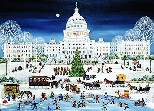 The People's Capitol, Boxed Holiday Cards, Qty 12, 5