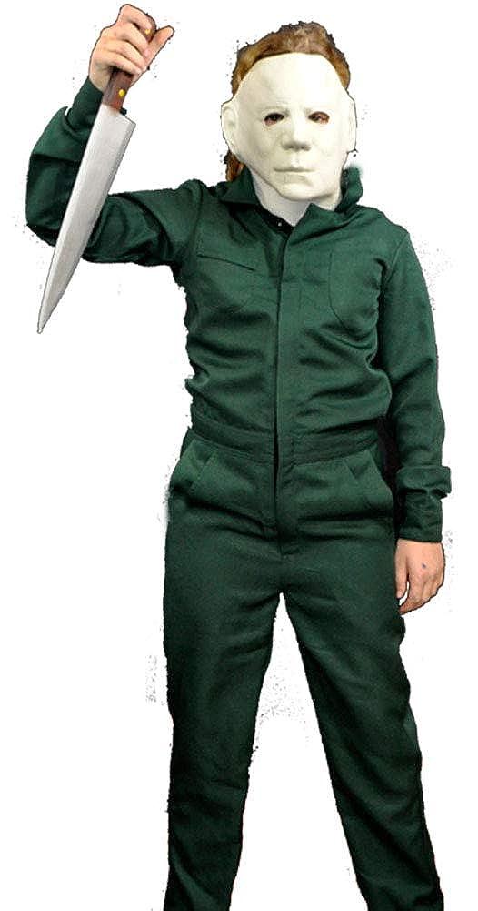 Amazon.com: Halloween II Michael Myers Deluxe - Disfraz para ...