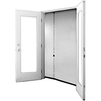 Premium 72 Quot X80 Quot White Magnetic Screen Door For French Door