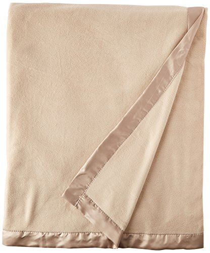 - True North by Sleep Philosophy Micro Fleece Luxury Blanket Beige 9090 Full/Queen Size  Premium Soft Cozy Mircofleece For Bed, Coach or Sofa
