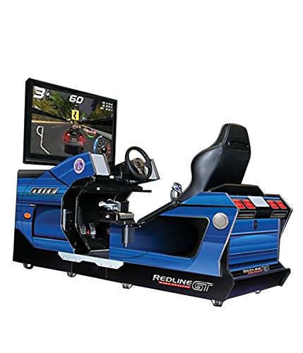 Chicago Gaming Company 8100  Redline GT Full Immersion Racing Simulator and Game Theater