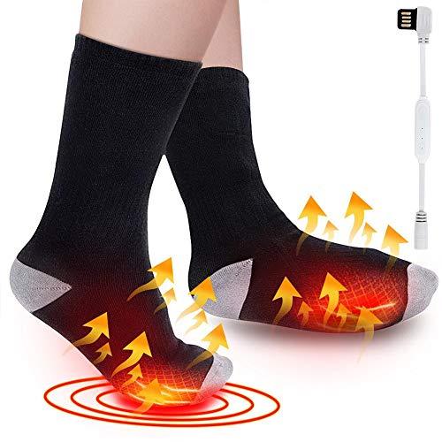 Verwarmde sokken voor heren Dames Thermische verwarming Voetverwarmer Chronisch, Buitenshuis Binnen Warm Winter…
