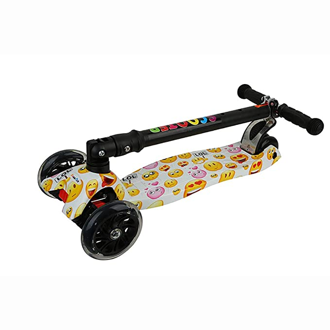 L.HPT 3 Ruedas Kid Patinete Toddler DIY Patinete De Juguete ...