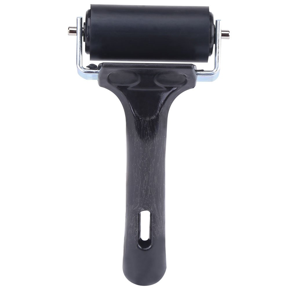 Soft Rubber Brayer, Ideal for Anti Skid Tape Construction Tools Print Ink and Stamping Tools Rubber Brayer Roller, Suitable for Kids Painting Zerone
