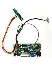 HDMI DVI VGA Lvds LCD Driver Controller Board DIY Kit for Panel B141PW04 V0 V.0
