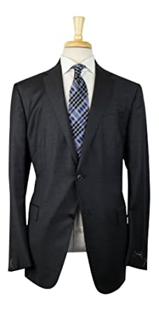 31900fd851cbc Amazon.com: ERMENEGILDO ZEGNA 'Trofeo' Gray Wool 2 Button Suit Size ...