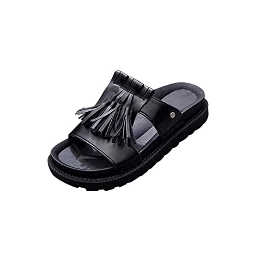 Summer Sandals Inkach Women's Summer Sandals Roman Fringe Sandals Ladies Flip Flops Shoes
