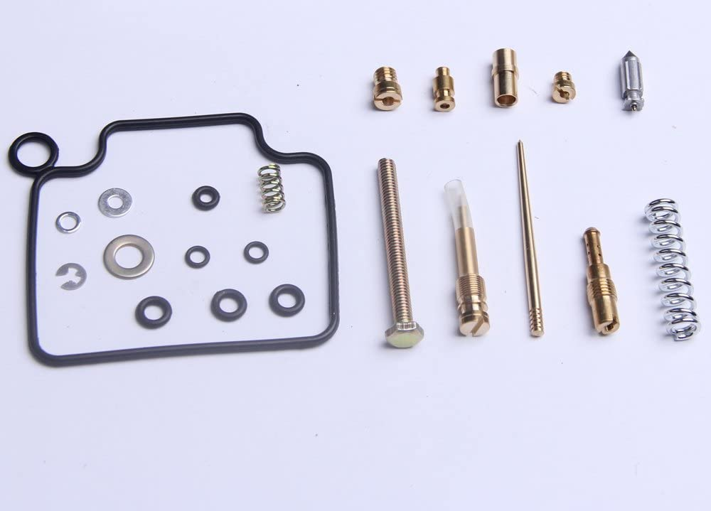 Primer Choke Repair Rebuild Kit Fit for Honda TRX 350 Rancher 2000 2001 2002 2003 WFLNHB Complete Carburetor