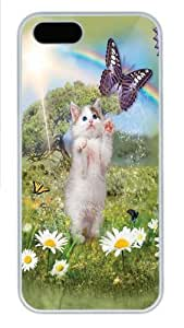 Kittys Dreamland PC Case Cover for iPhone 5 and iPhone 5s White