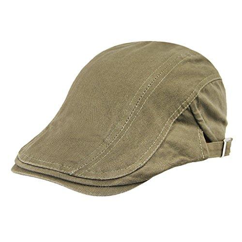 ハンチング帽 メンズ おしゃれ 大きい 無地 英国風 レディース兼用 キャスケット帽子 カジュアル コットン素材 オールシーン 調節可能 プレゼント ファション小物