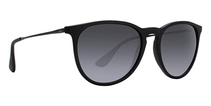 Ray-Ban RB4171 Erika Sunglasses Matte Black w/Grey Gradient (622/8G) 4171 6228G 54mm Authentic