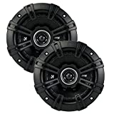 2) Kicker 43DSC504 D-Series 5.25 200W 2-Way 4-Ohm Car Audio Coaxial Speakers