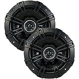 2) Kicker 43DSC504 D-Series 5.25 200W 2-Way 4-Ohm Car Audio Coaxial Speakers