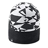 Under Armour Boys Reversible Beanie upd, Black (001)/White, One Size