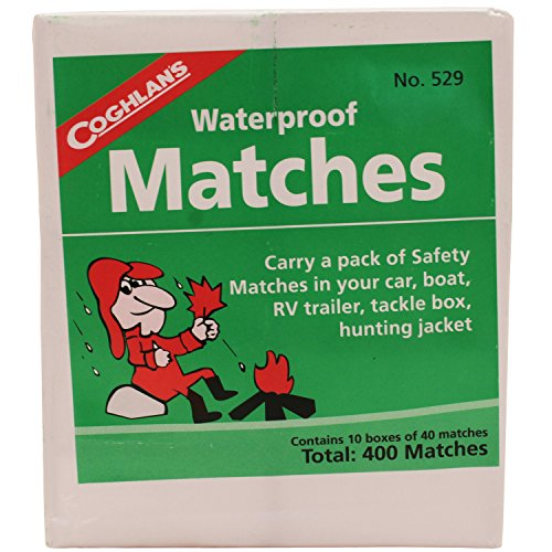 8. Waterproof Matches
