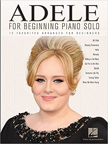 Book Adele For Beginning Piano Solo