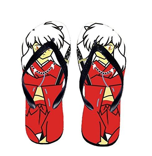 Bromeo Inuyasha Anime Unisex Flip Flops Chanclas 593
