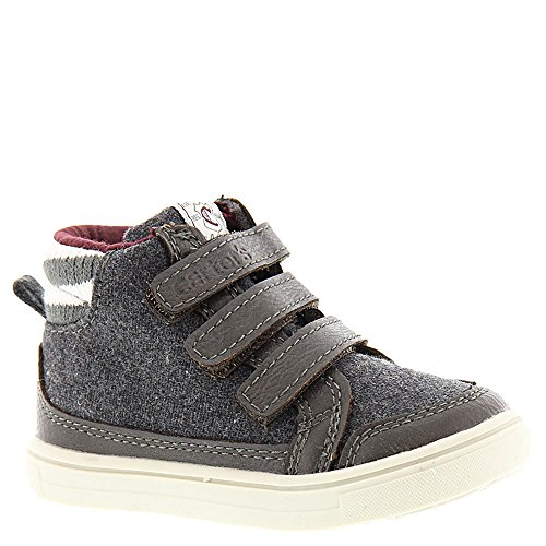 [carter's Boys' WINSTON2 High Top Sneaker, Grey, 10 M US Toddler] (Boys Boots Sale)