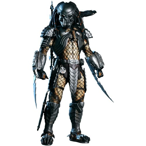 Celtic Predator Mask (Alien Vs. Predator Hot Toys Movie Masterpiece 14 Inch Figure Celtic)