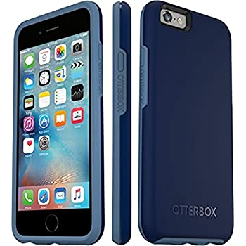 "OtterBox SYMMETRY SERIES Slim Case for Apple iPhone 6s & iPhone 6 (4.7"") - Retail Packaging - BLUEBERRY"