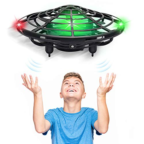 CPSYUB Hand Operated Drones for Kids Adults, 5 Infrared Sensor Mini UFO Drone Hand-Controlled Flying Ball Toys with…