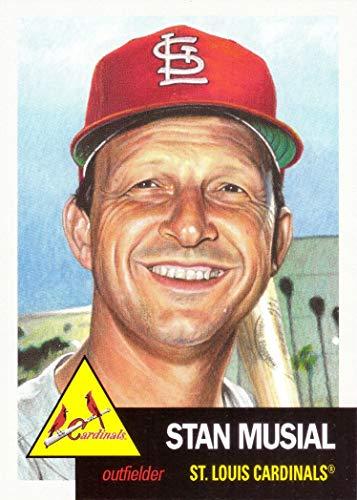(2019 Topps Living Set #154 Stan Musial Baseball Card St. Louis Cardinals - Only 4,575 made!)