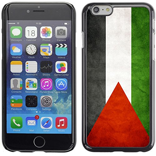 Graphic4You Vintage Palestinian Flag of Palestine Design Thin Slim Rigid Hard Case Cover for Apple iPhone 7 Plus