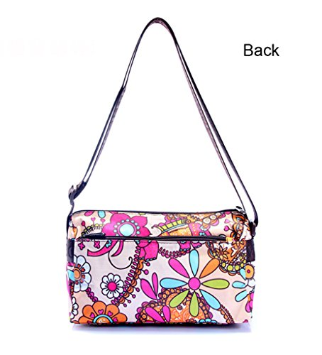 Women Bag Cross Bags Outdoor Small Sports Body Horse for Shoulder Gym Portable Cute Tote Printed Oxford qxz47wnI6F