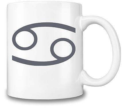 Mugs4GoodLife Taza de café con símbolo de cáncer de Karkat ...