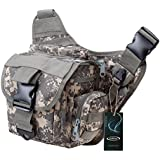 G4Free® Multi-functional Tactical Messenger Bag Utility Pouch Versipack