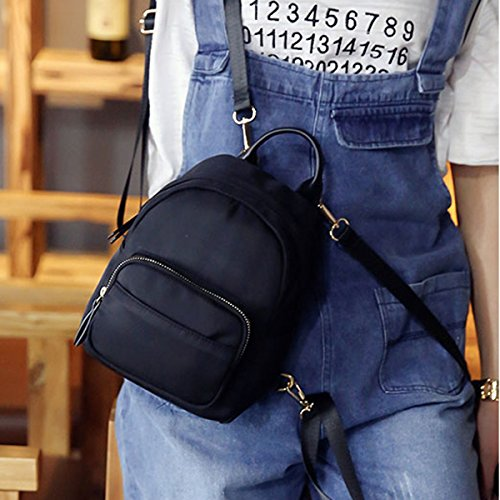 Purse Women Daypack Bag Handbag Backpack Printed Black Shoulder Clara Leisure Mini Camouflage Nylon YxxOP