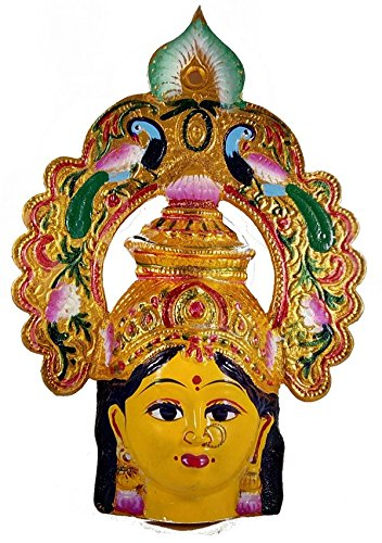 Buy Pujacelebrations Amman Face With Peacock Arch Online at