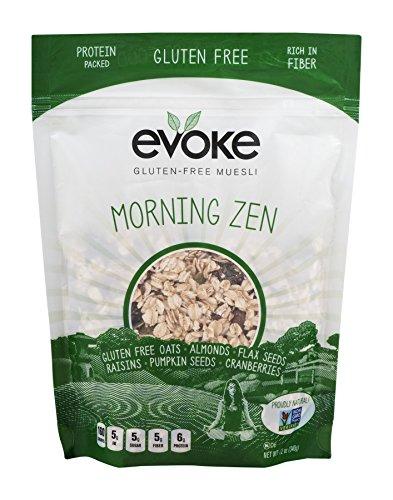 Evoke Morning Zen Gluten Free Muesli  12 Ounce
