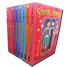 My Sister the Vampire - Series 1 (Books 1 to 8) Collection Pack Set By Sienna Mercer (Titles includes: Star Style, Lucky Break, Love Bites, Take Two, Vampalicious, Revamped, Fangtastic, Switched) (My Sister the Vampire - Series 1)