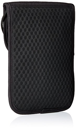 51AFJ0Bvv3L - Victorinox Deluxe Security Pouch RFID Protection, Black Logo