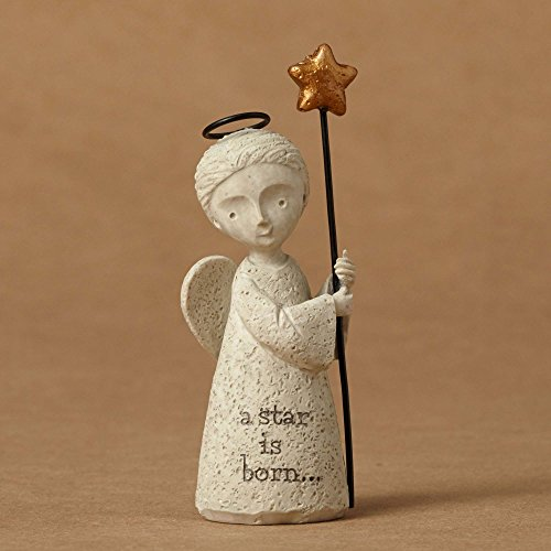 ENESCO Bless You Mini Nativity Angel Figurine 3 In