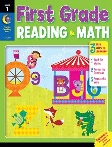 First Grade Reading & Math Jumbo Workbook