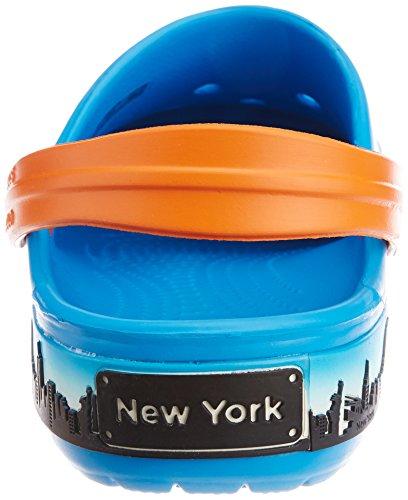 Bleu Ocean New Crocs Sabots Clog York Skyline Adulte Crocband Mixte Ox4wvqg8