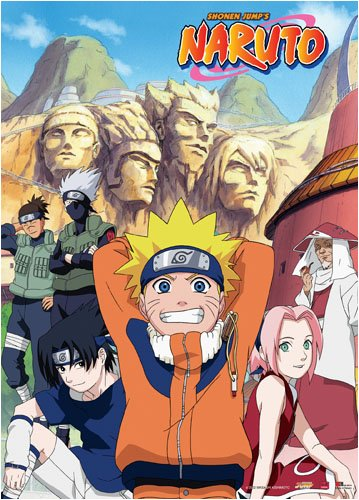 Naruto: Naruto and Friends Anime Wall Scroll