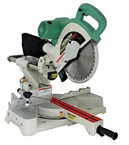 Hitachi C10FSH 10-Inch Sliding Compound Miter Saw with Laser
