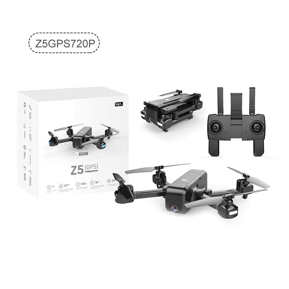 Colinsa RC Quadrocopter Drohne Mit 720P/1080P Kamera, SJRC Z5 Dual GPS Quadrotor Drone Aircraft Remote Control Aircraft,Intelligent Follow und Gesture Recognition