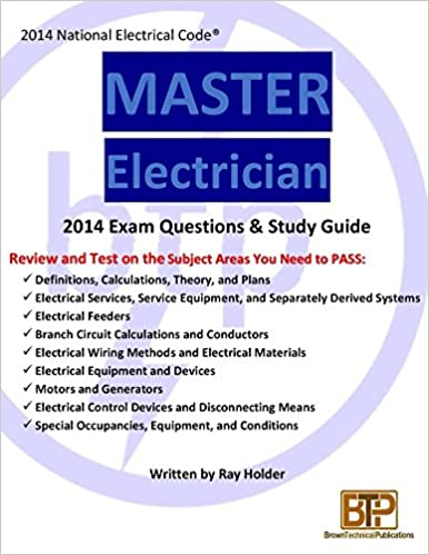 Amazon.com: 2014 Master Electrician Exam Questions and Study Guide ...