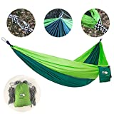 Lightweight and convenient for your next outdoor trip        Lighten the load and opt for our comfortable and easy to carry hammock on your next outdoor, overnight trip. Ditch the tent and sleep under the stars as you hang comfortably above ...